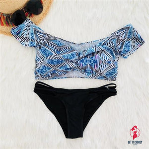 New Arrival Women Swimwear Sexy Retro Tropical by Getitchoosy