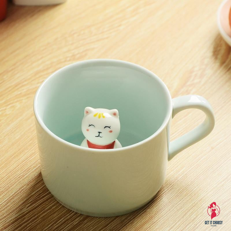 Furry Friend Coffee Mug by Getitchoosy