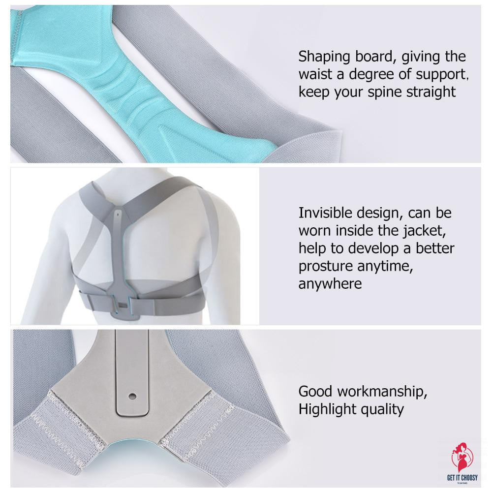 Back Posture Corrector Clavicle Spine Back by Getitchoosy