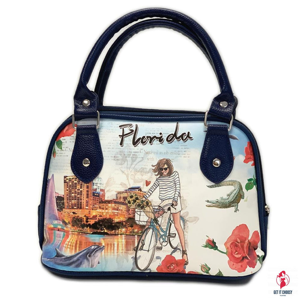 OH Fashion Handbag Shoulder Bag Explore Florida by Getitchoosy