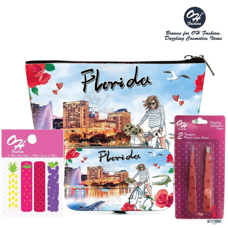 OH Fashion Beauty Set Explore Florida by Getitchoosy