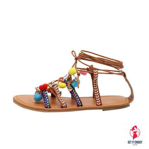 Plus Size Women Bohemia Sandals Summer Fashion by Getitchoosy