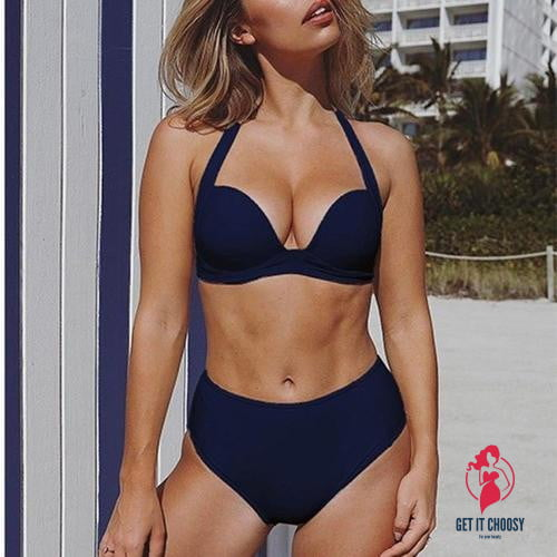 Popular Style Women Bikini Push-Up Padded Swimwear by Getitchoosy