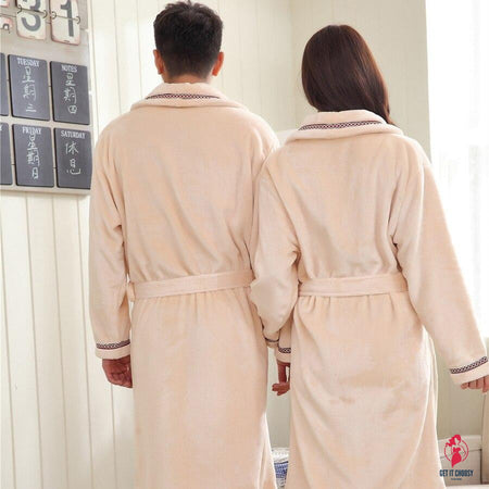 Couple Sleepwear Soft Loose Long by Getitchoosy
