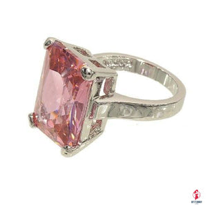 Very Large Pink Cubic Zirconia Single Stone by Getitchoosy