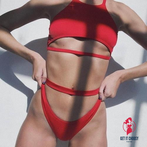 Sexy Women Bikini Push-Up Padded Swimwear Swimsuit by Getitchoosy