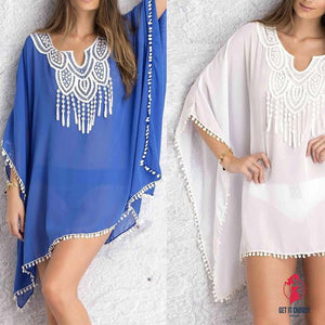 Sexy Women Kaftan Sarong Blouses Bathing Suit by Getitchoosy