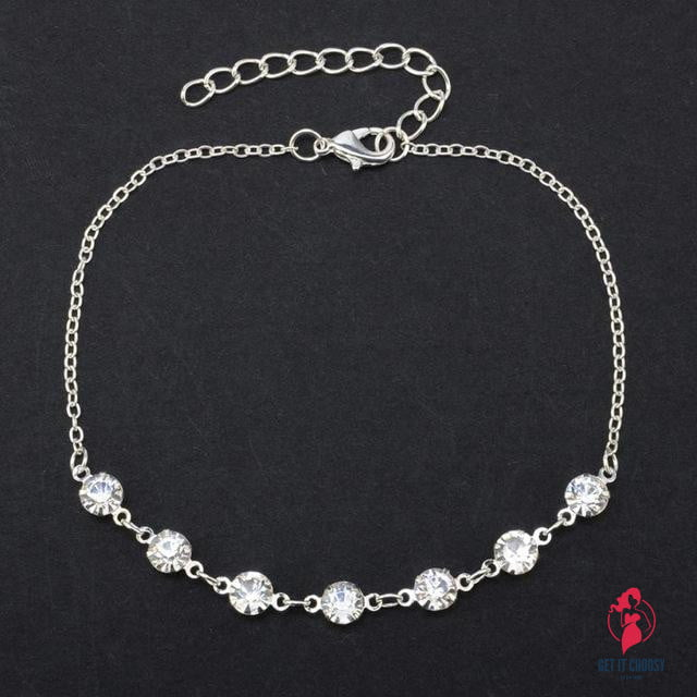 Stylish Silver Ankle Bracelet Women Anklet by Getitchoosy