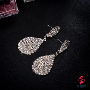 Stylish Sliver Earring Shining Fine Jewelry Woman by Getitchoosy