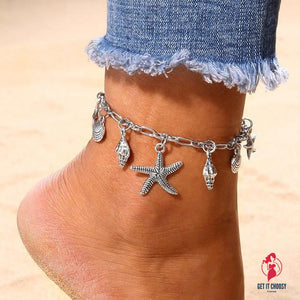 Chain Anklet Jewelry Beach Section by Getitchoosy