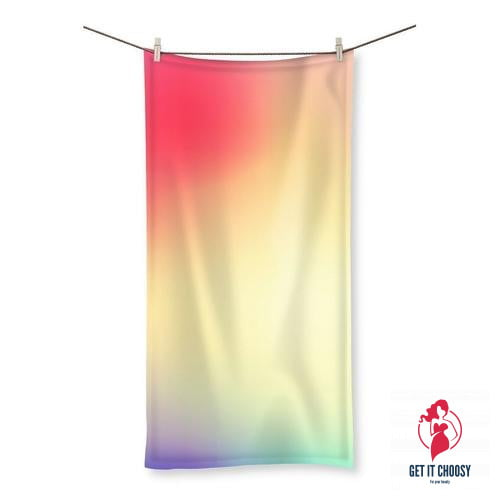 Abstract Gradient 5 Beach Towel by Getitchoosy