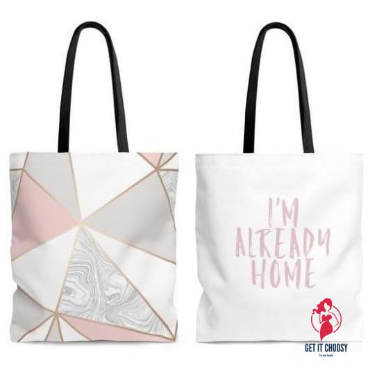 I'm Already Home Tote by Getitchoosy