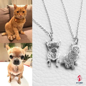 My Pet Necklace by Getitchoosy