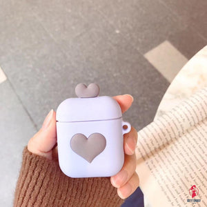 Pastel Heart AirPods Case by Getitchoosy