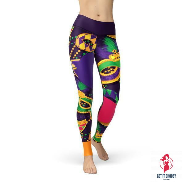 Beverly Mardi Gras Leggings by Getitchoosy