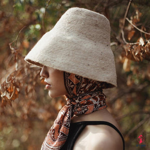 Naomi Jute Bucket Hat by Getitchoosy