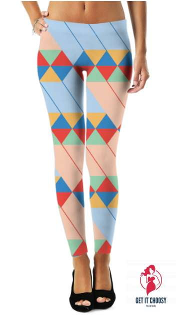 Graphic Pattern  Legging by Getitchoosy