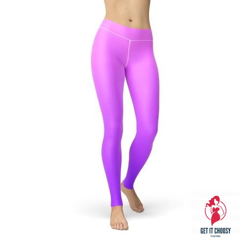 Jean Pink Purple Ombre by Getitchoosy