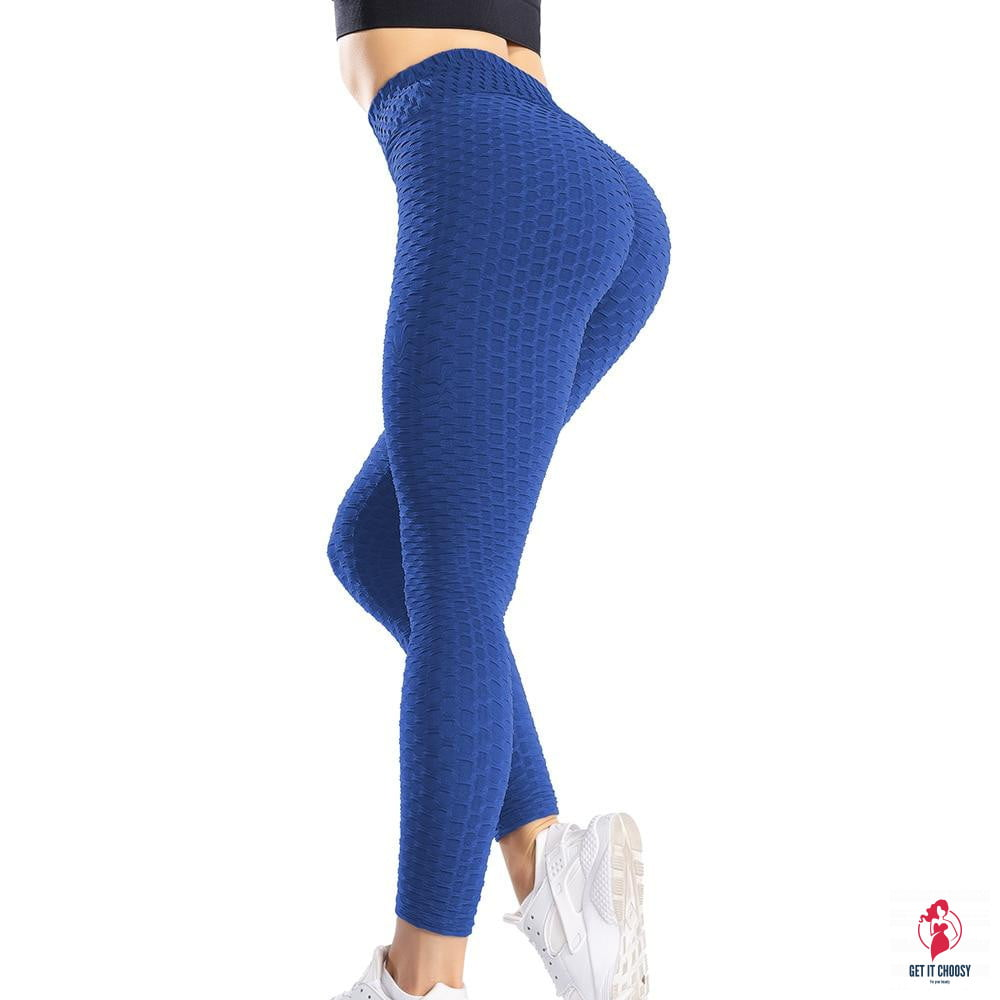 Yoga Pants Leggings Sport Women Fitness Gym High Waist Push Up Yoga - Get It Choosy