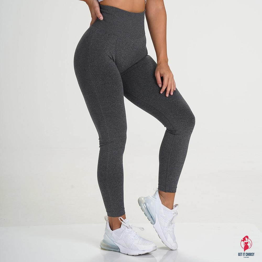 Sexy Leggings for Women High Waisted Yoga Pants Full Length Seamless - Get It Choosy