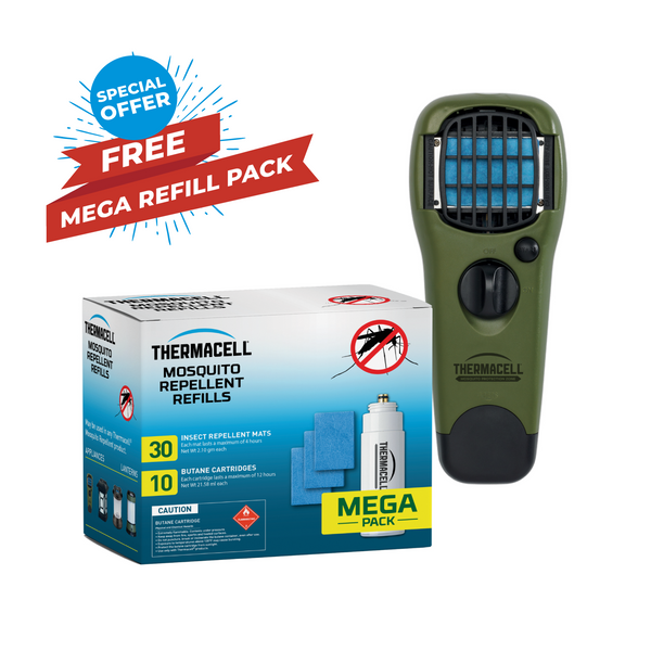 Handheld Repeller & Mega Refill Pack