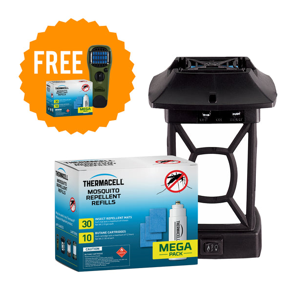 Cambridge Lantern & Mega Refill Combo (Free Handheld Repeller with Mega Refill)