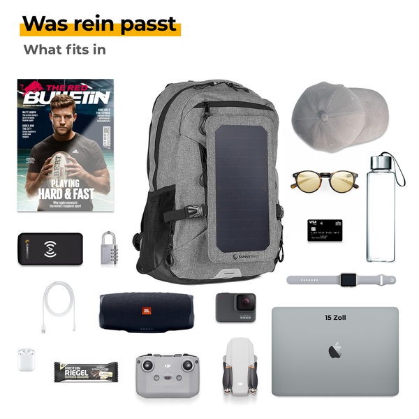 explorer+ was rein passt
