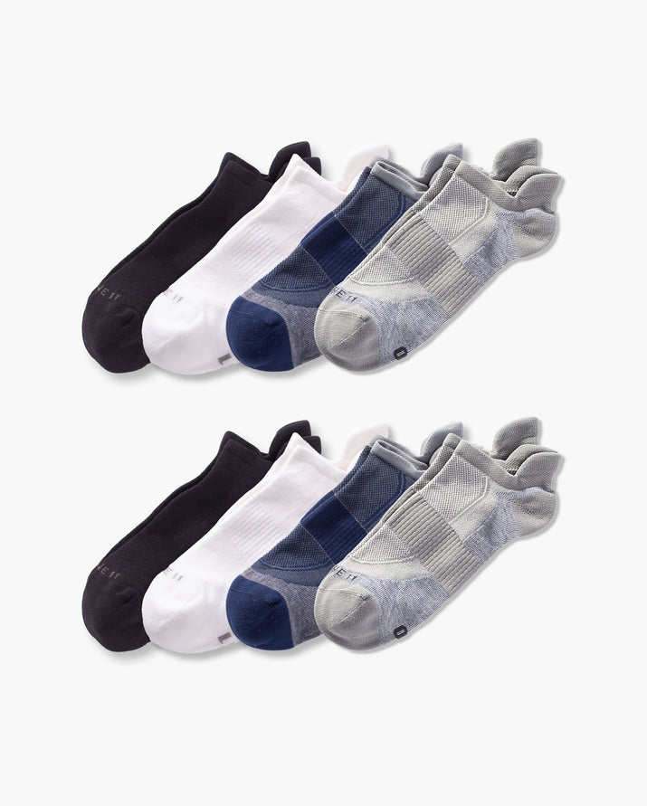 mens ankle sock in a 8 mix2 pack