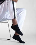 mens ankle sock in black style