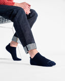 mens ankle sock in navy style