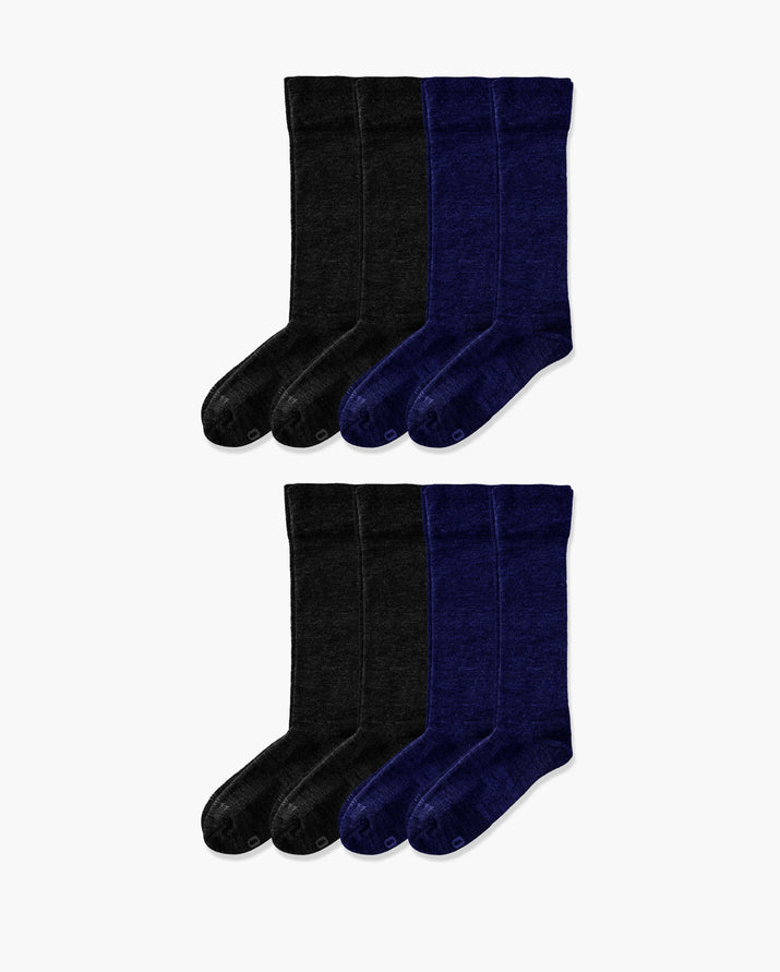 mens knee high sock in a 8 mix1 pack
