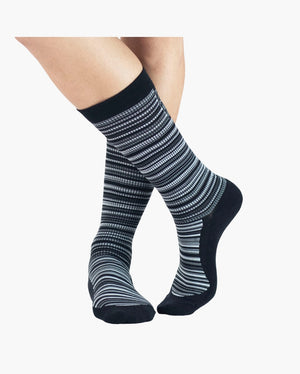 mens crew sock in midnight style