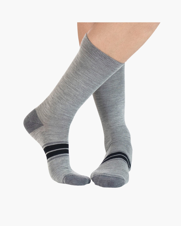 mens crew sock in vapor style
