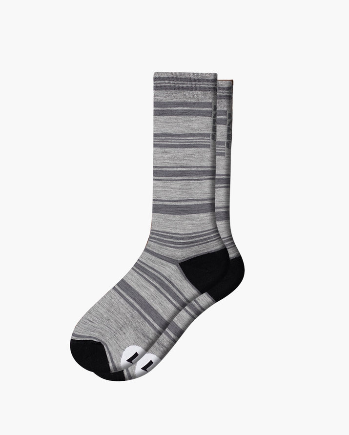 mens crew sock in vapor laid flat