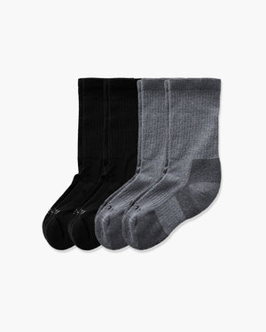 womens crew sock in a 4 mix pack