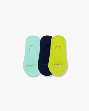 womens no-shows sock in a 3 mix2 pack