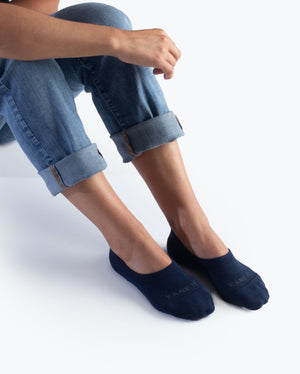 womens no-shows sock in navy style