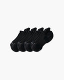 womens ankle sock in a 4 black pack