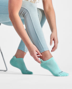 womens ankle sock in mint, lfestyle