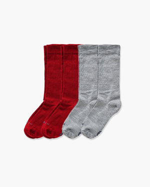 womens crew sock in a 4 mix1 pack