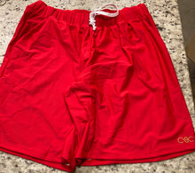 Basic Red Shorts
