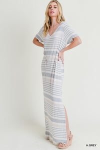 Grayson Striped Maxi Dress