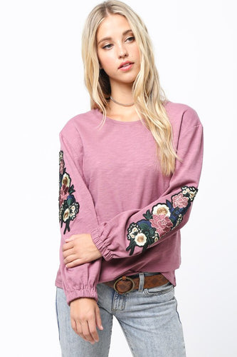 FINAL SALE - Vintage Floral Vibes long sleeve