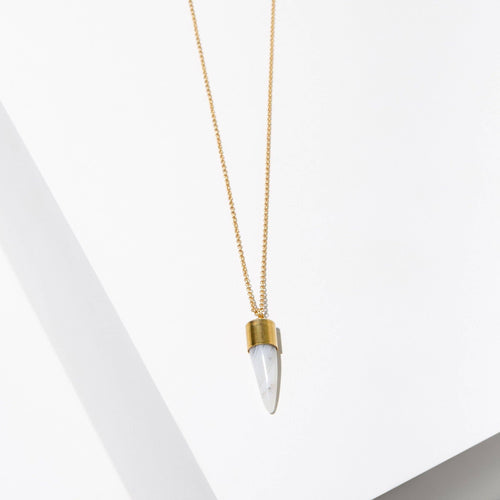 Larissa Loden Jewelry - Agate Spike Necklace