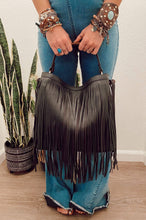 Load image into Gallery viewer, Precious Holdings Fringed Hobo Bag