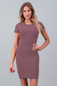 FINAL SALE - Short Sleeve Crew Dress