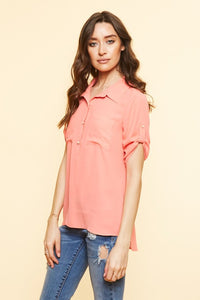 FINAL SALE - Button Down Blouse