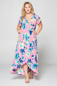 Bubble Gum + Flowers Beauties Dress