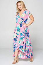 Load image into Gallery viewer, Bubble Gum + Flowers Beauties Dress