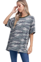 Load image into Gallery viewer, Oversized Camo Tee